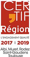 logotype de Certif'Region partenaire de BGE Sud-Ouest