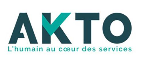 logotype de akto partenaire de BGE Sud-Ouest