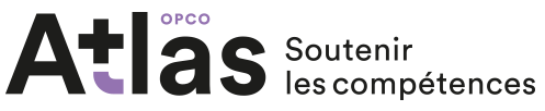 logotype de l'opco atlas partenaire de BGE Sud-Ouest