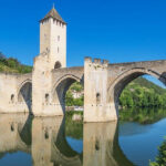 Photo du pont Valentré de Cahors Illustration département du Lot 46 BGE Sud-Ouest